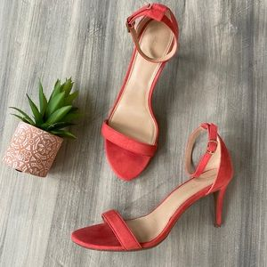 Old Navy Coral strappy heels